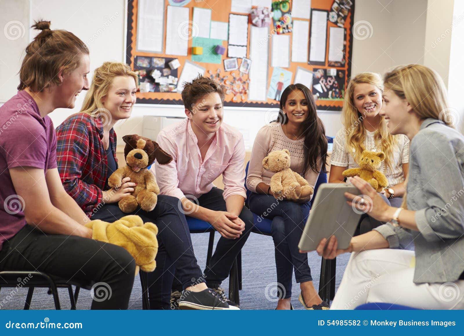 Kurs för lärareHelping Students Taking barnomsorg