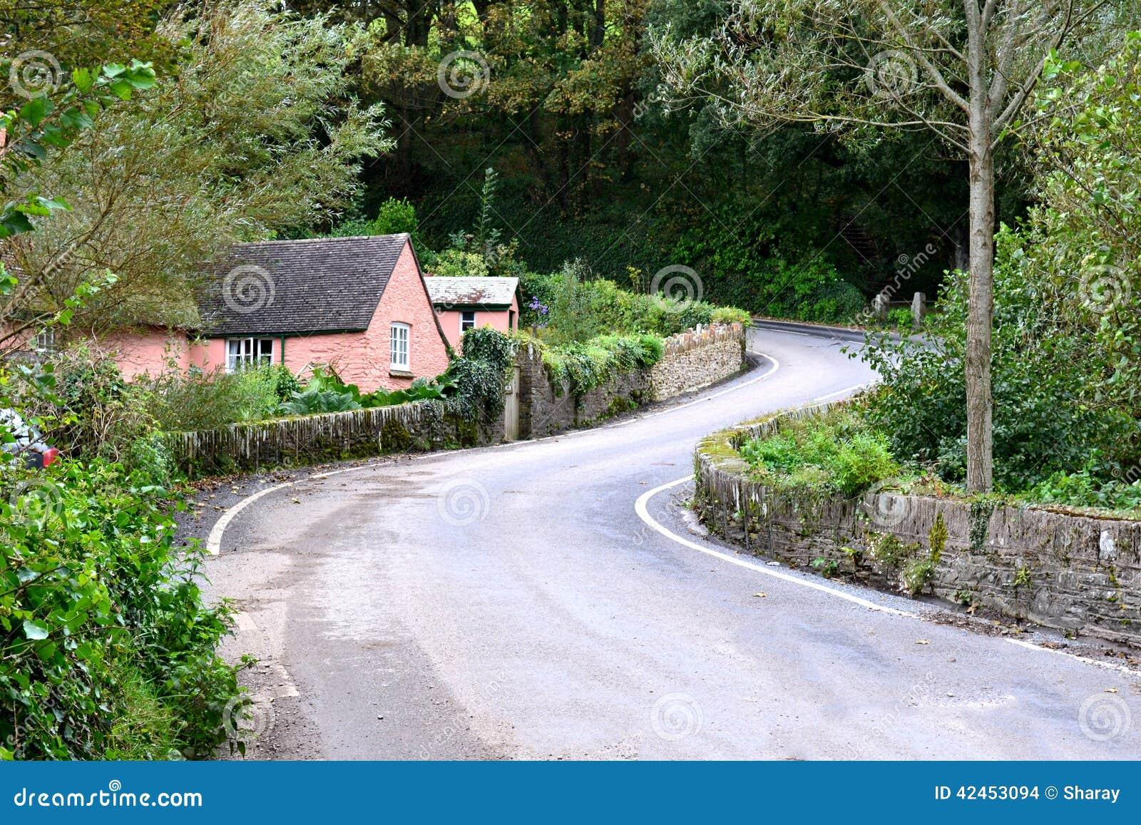 Kurven der Straße
