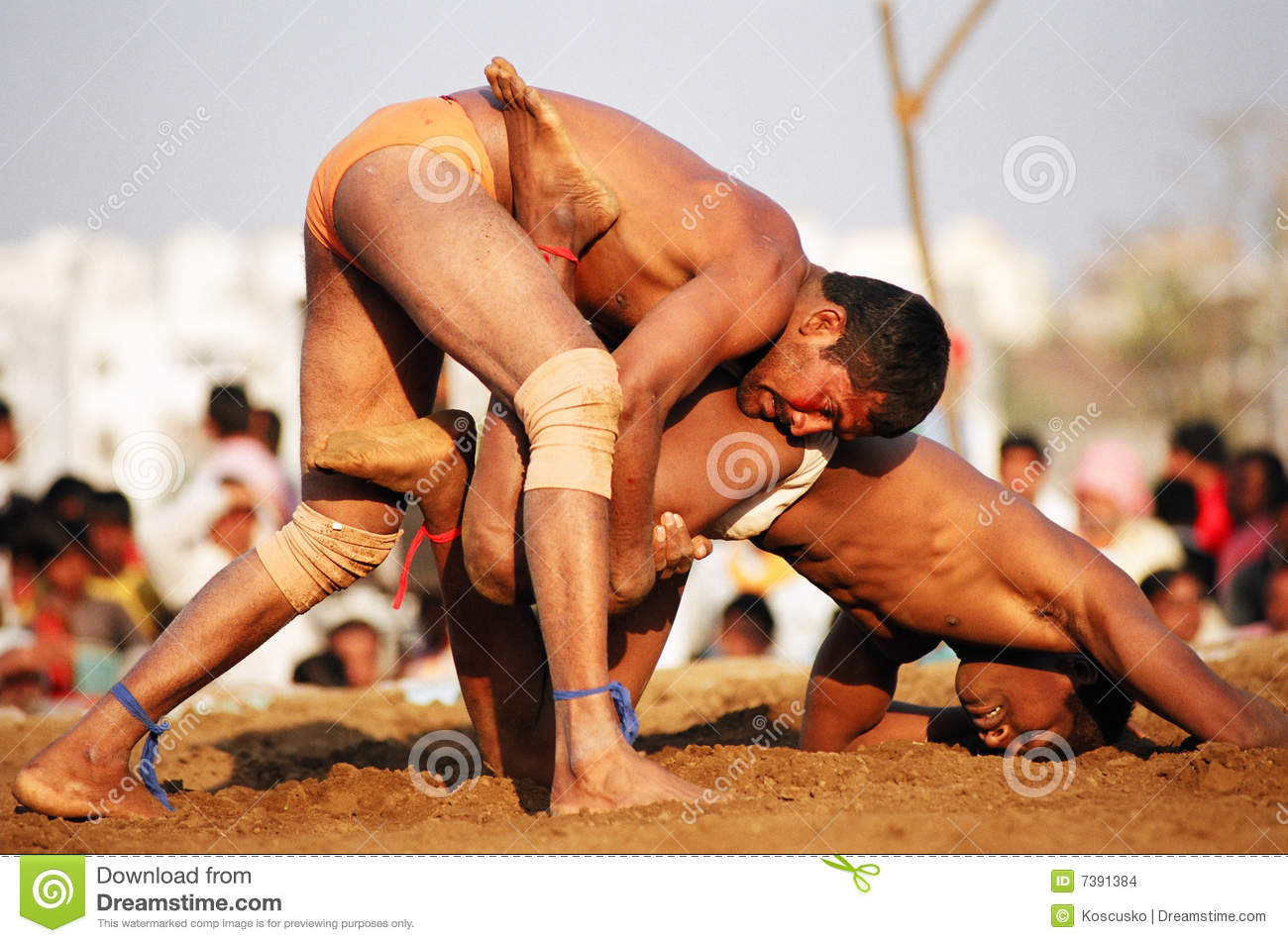 Kushti fight, India
