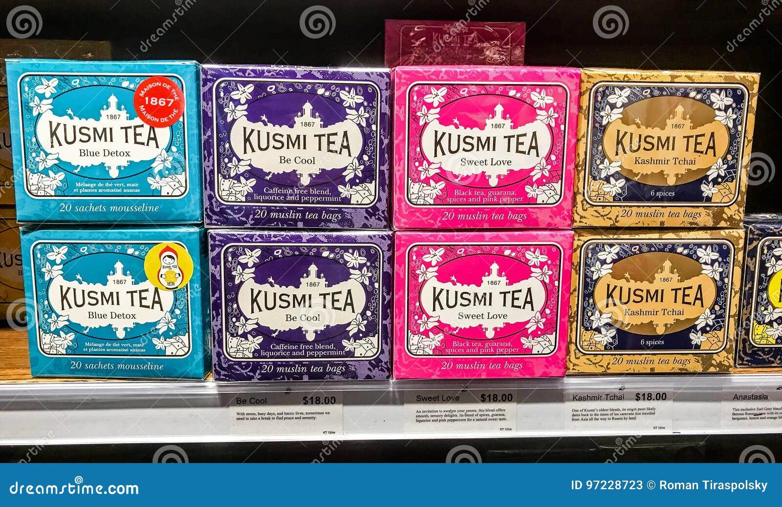 Kusmi茶的分类