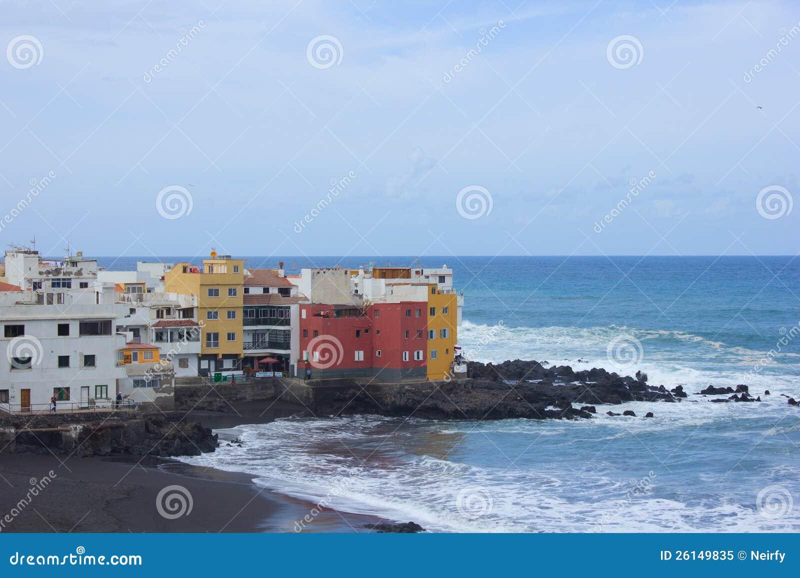 Kust in Puerto DE La Cruz, Tenerife, Spanje