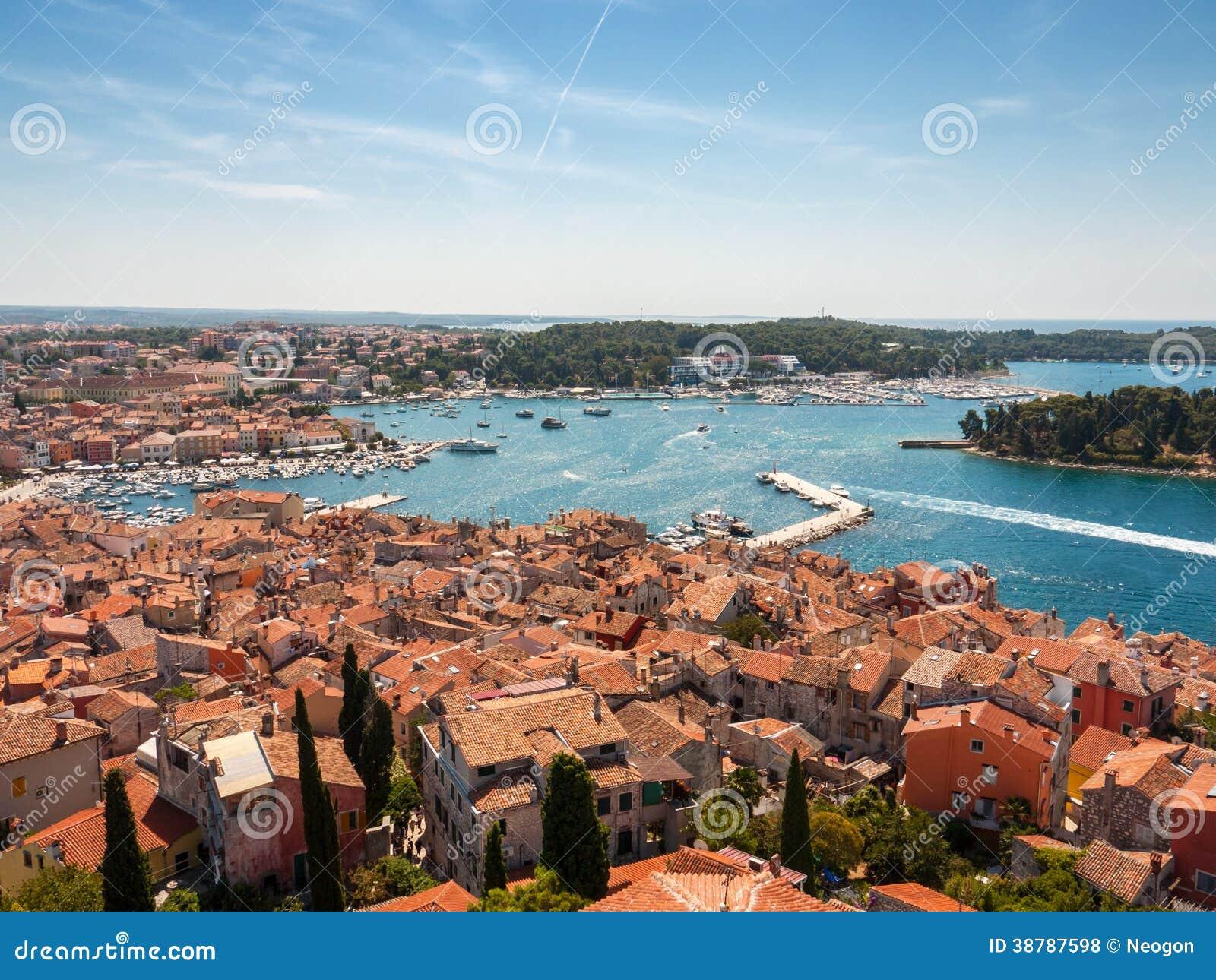 Kust Rovinj, Kroatien