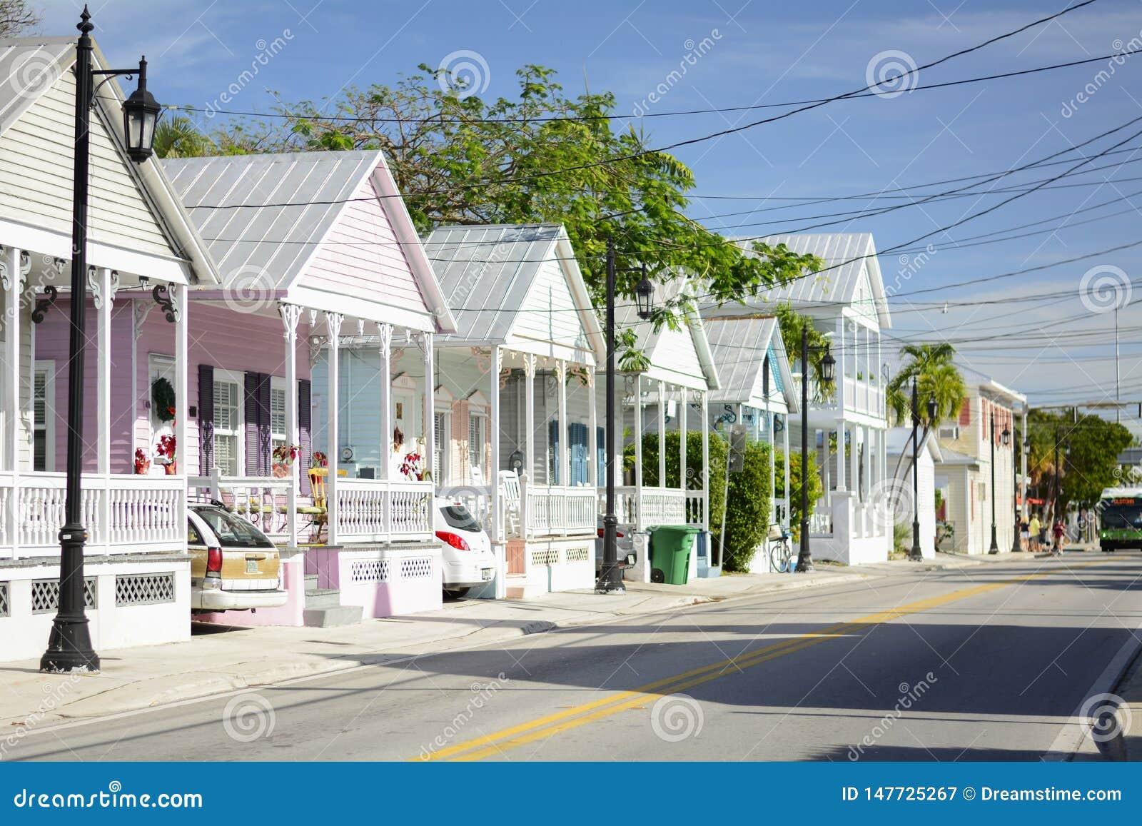 Kust- stad Key West florida