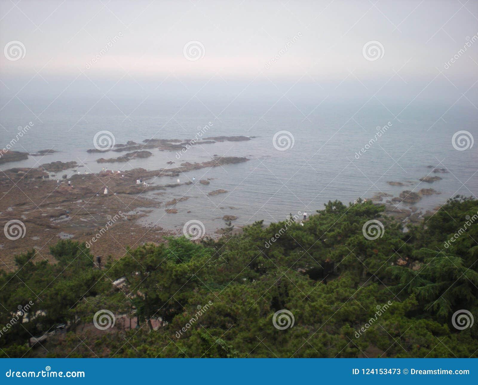 Kust van Qingdao