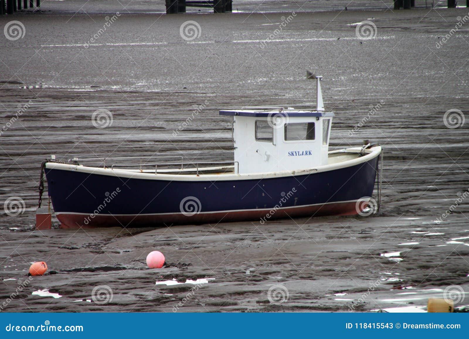 Kust van Weatern-Merrie at low tide