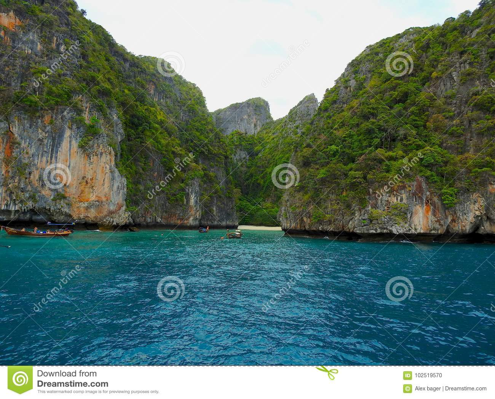 Kustgebied van Thailand