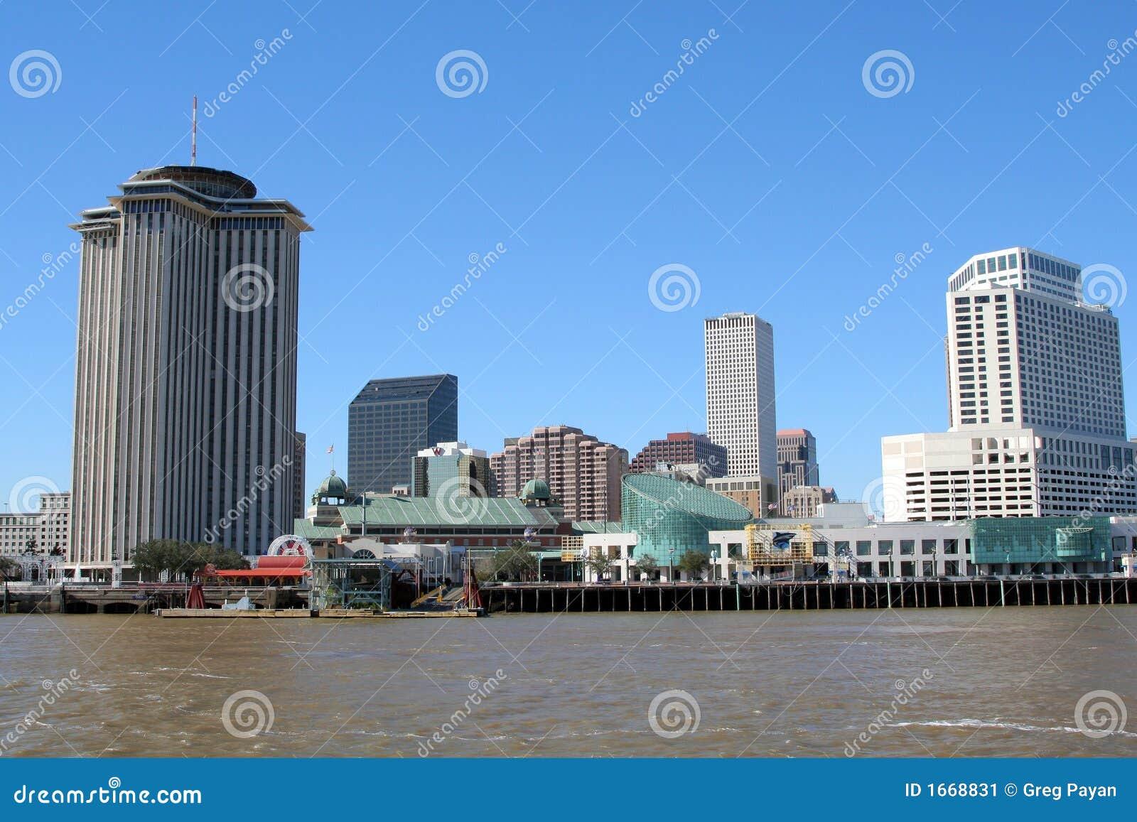 Kustlinje New Orleans