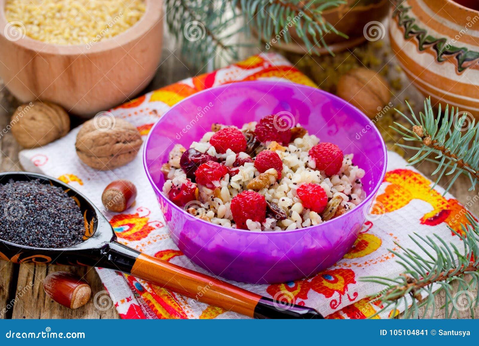 Kutia Traditional Ukrainian Christmas Dish Stock Image Image Of