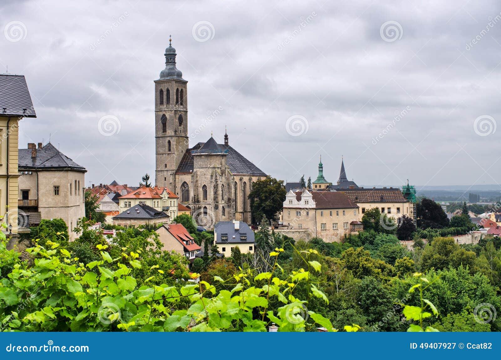 Download Kutna Hora - Tschechische Republik Stockbild - Bild von kathedrale, landschaft: 49407927