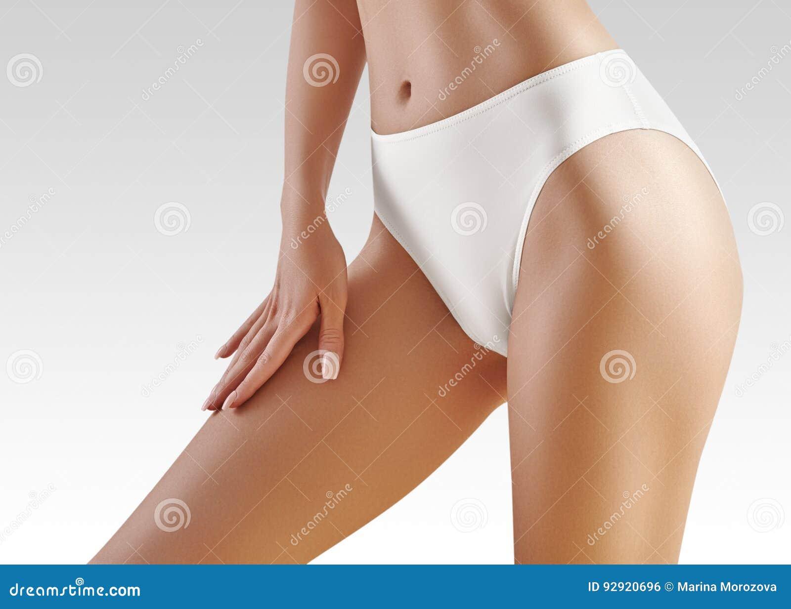 Kuuroord, wellness Gezond slank lichaam Mooie sexy heupen Geschiktheid of plastische chirurgie Perfecte billen zonder cellulite
