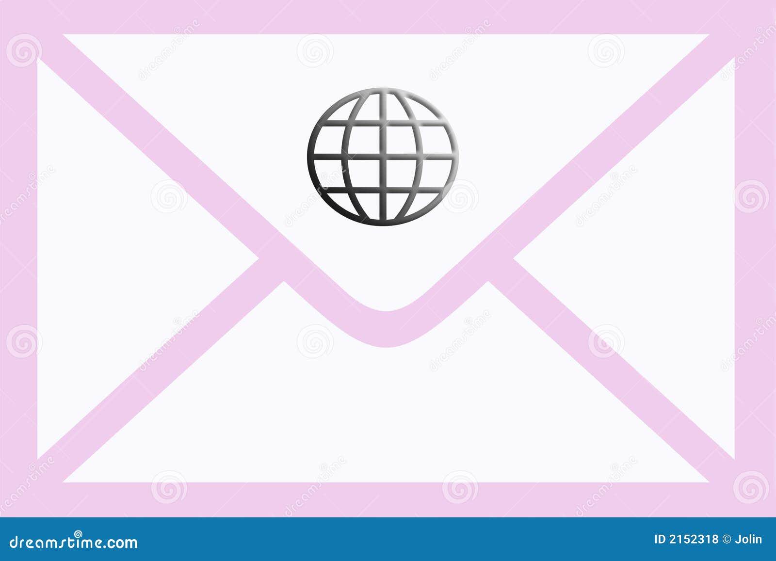 Kuvertpostpink