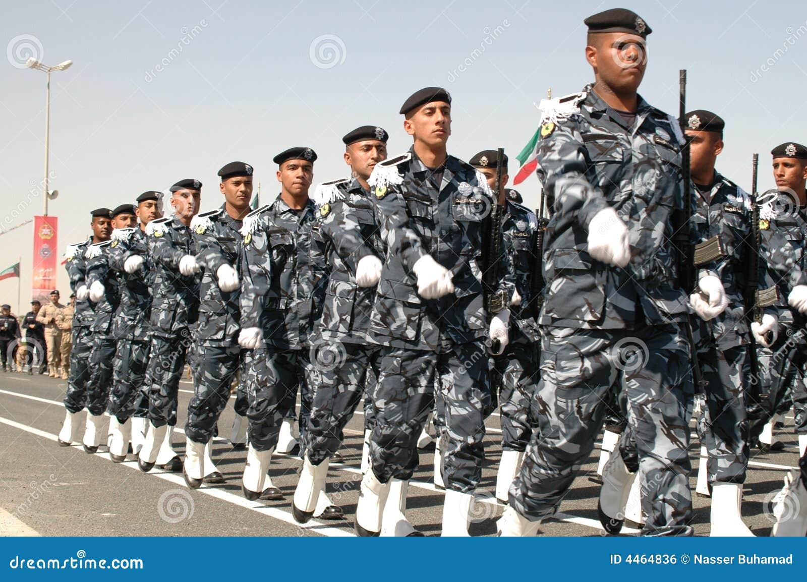 Kuwait-Armee-Erscheinen