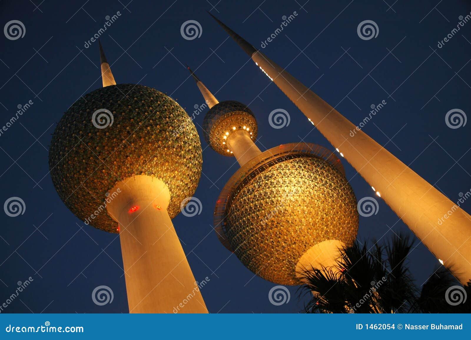 Kuwait-Kontrolltürme