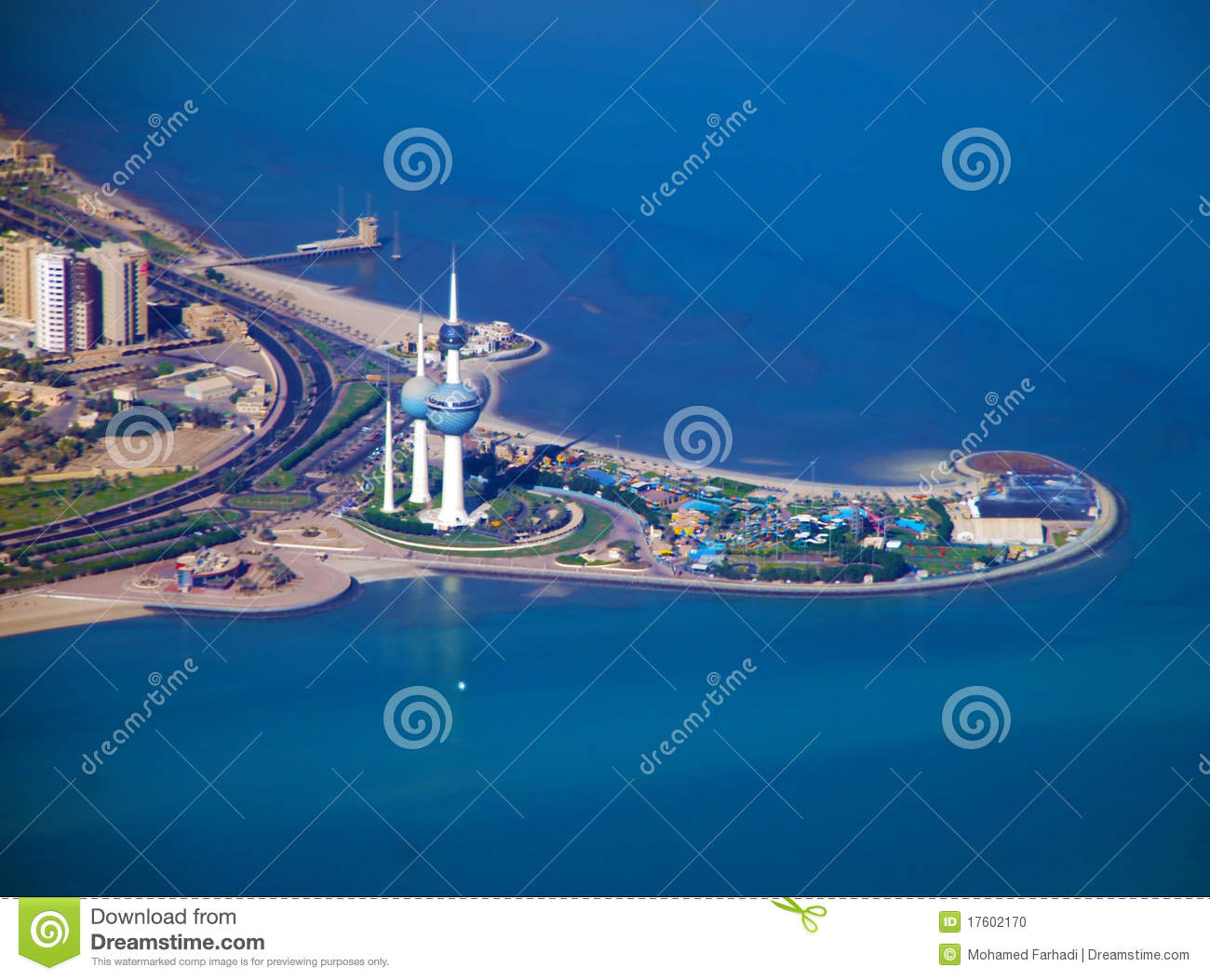 Stock Photo Kuwait Towers Image17602170 on living room entrance arch design