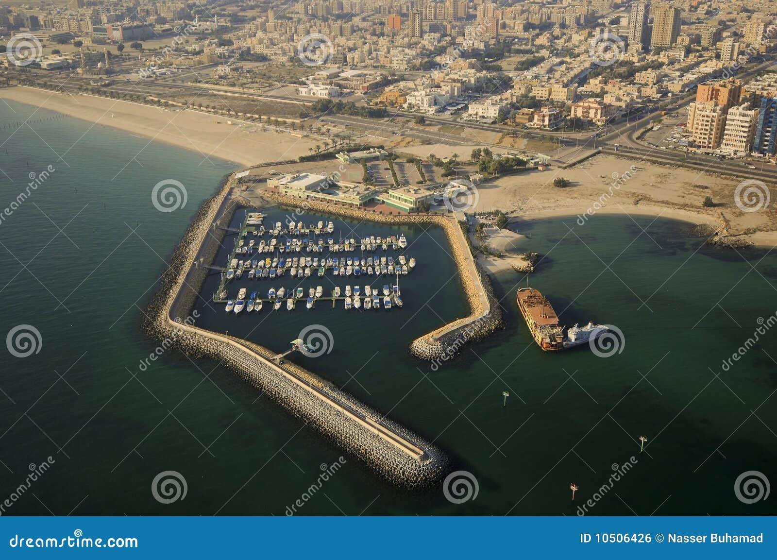 Kuwait vom Himmel