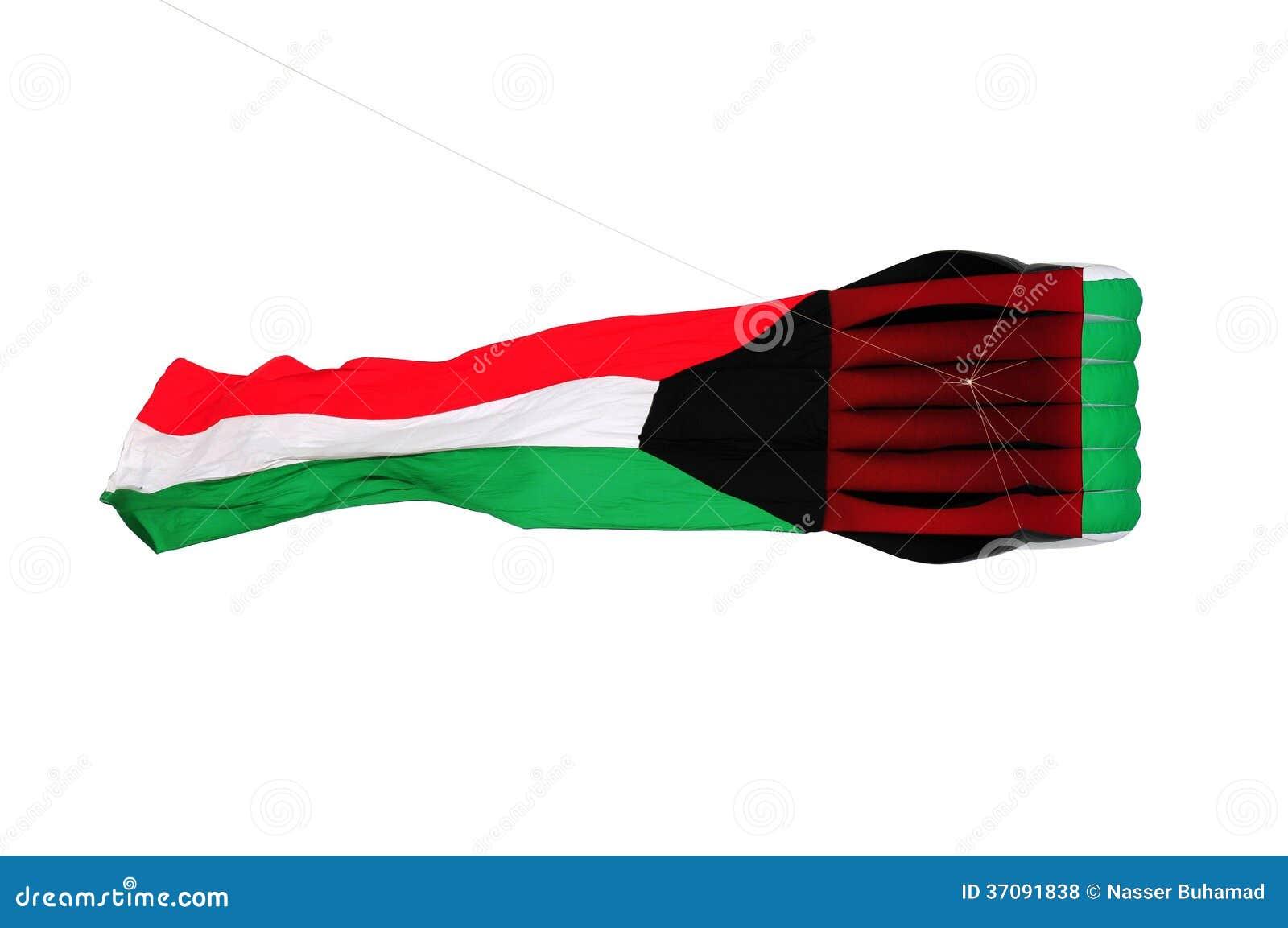 Download Kuwejt flaga kania zdjęcie stock. Obraz złożonej z kuwejt - 37091838