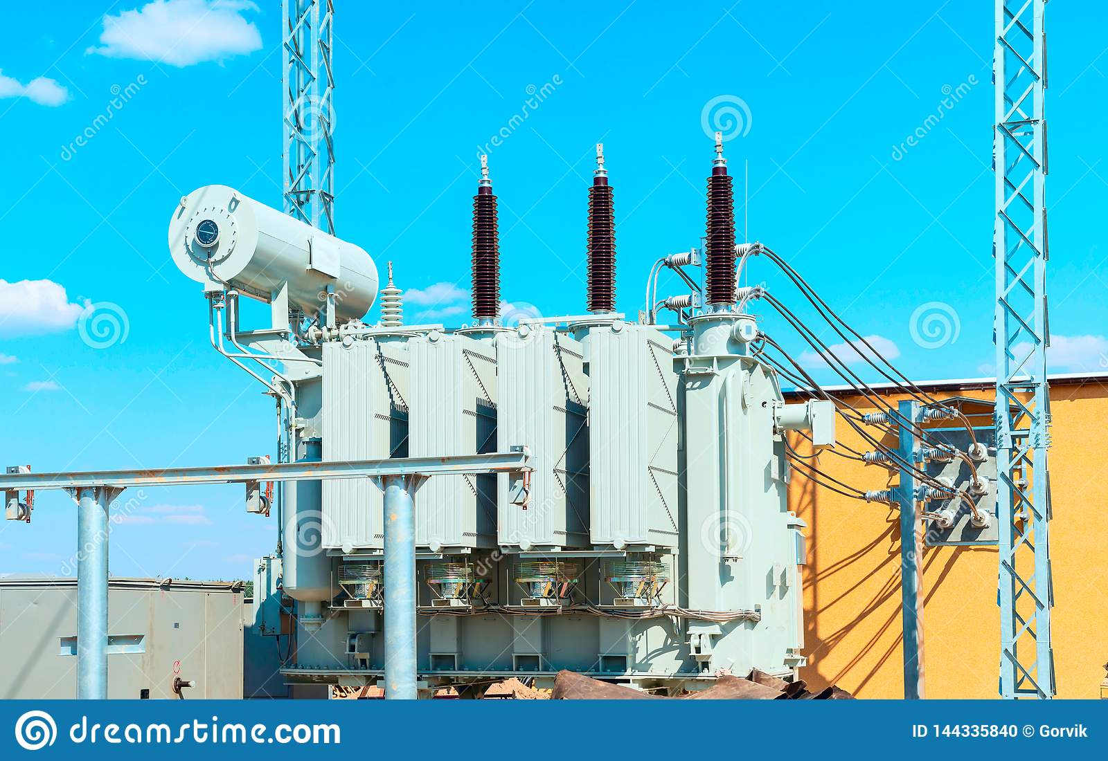 Current transformer 110 kV Electrical high voltage