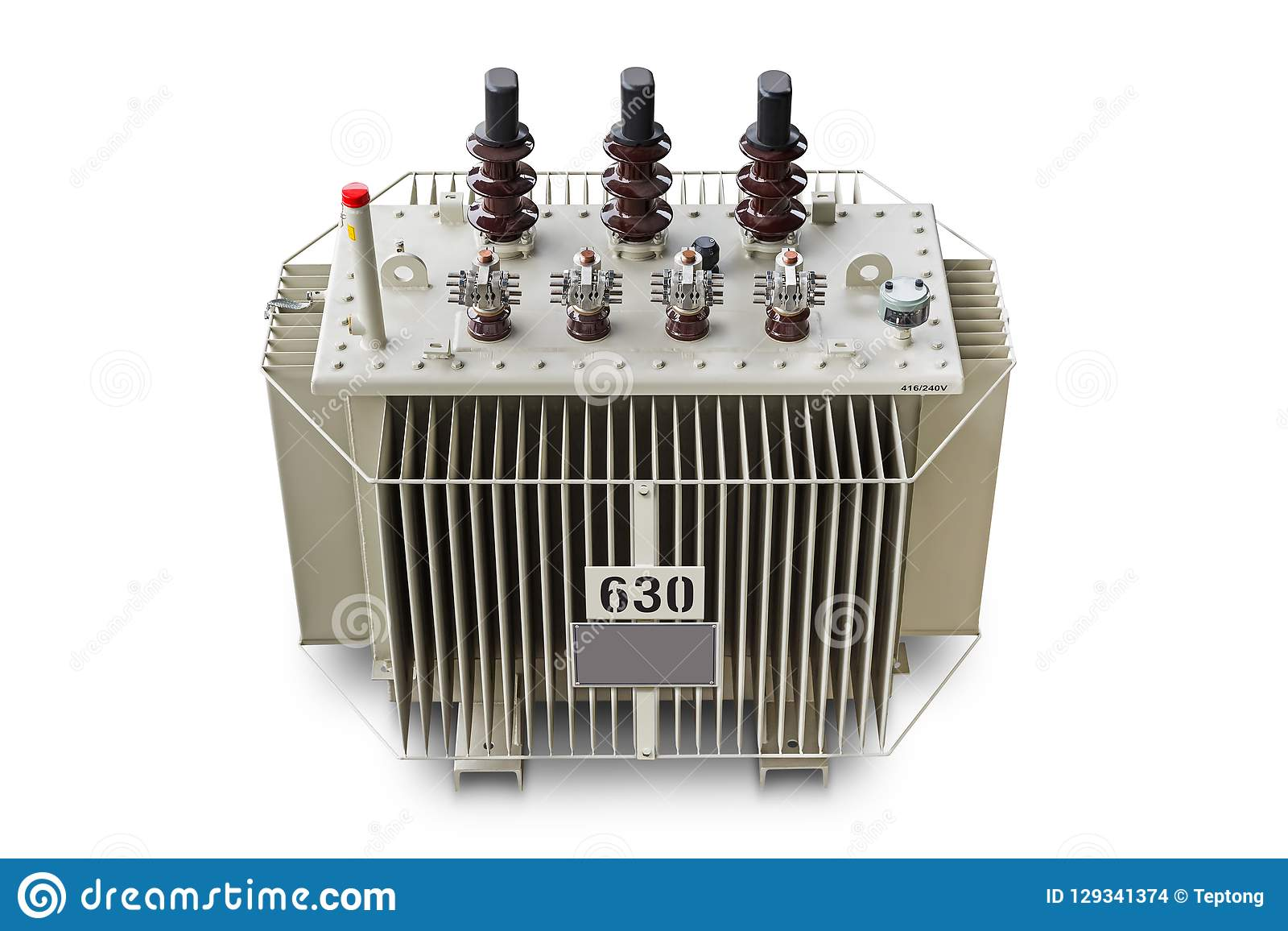 630 KVA Oil Immersed Transformer Stock Photo - Image of