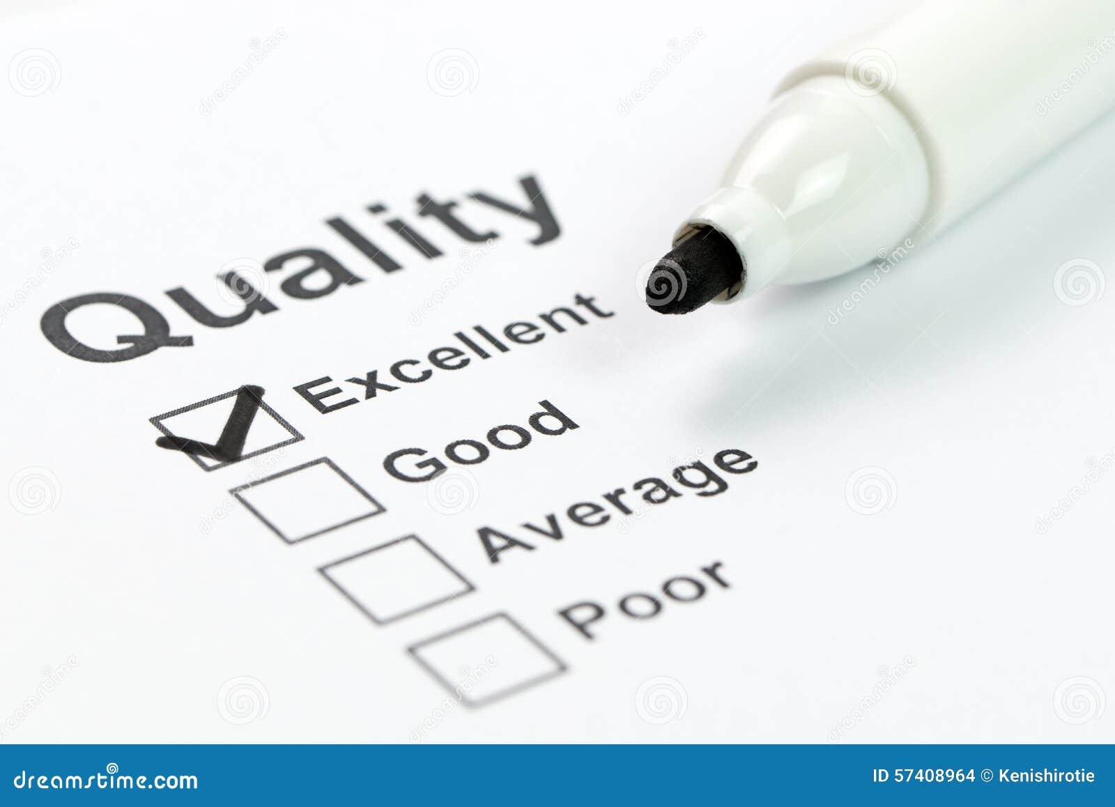 Kvalitets- kontrollera
