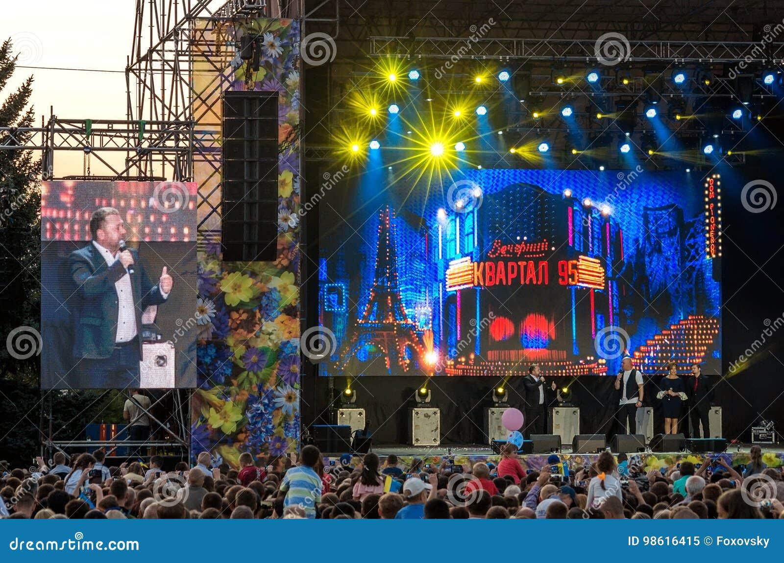 95 Kvartal Comes To Kramatorsk Ukraine With New Show