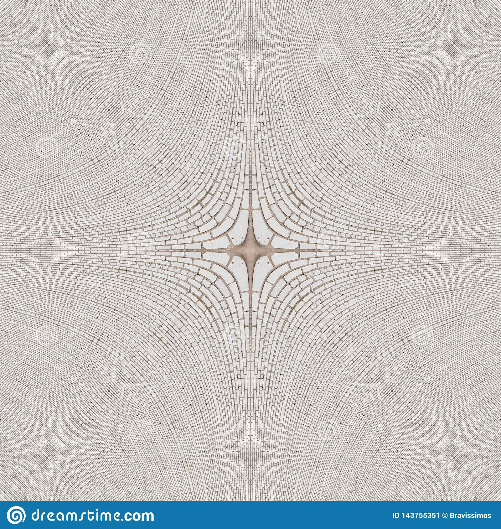 Kvarter f?r abstrakt begrepp f?r tegelplattamodellkalejdoskop ethnic