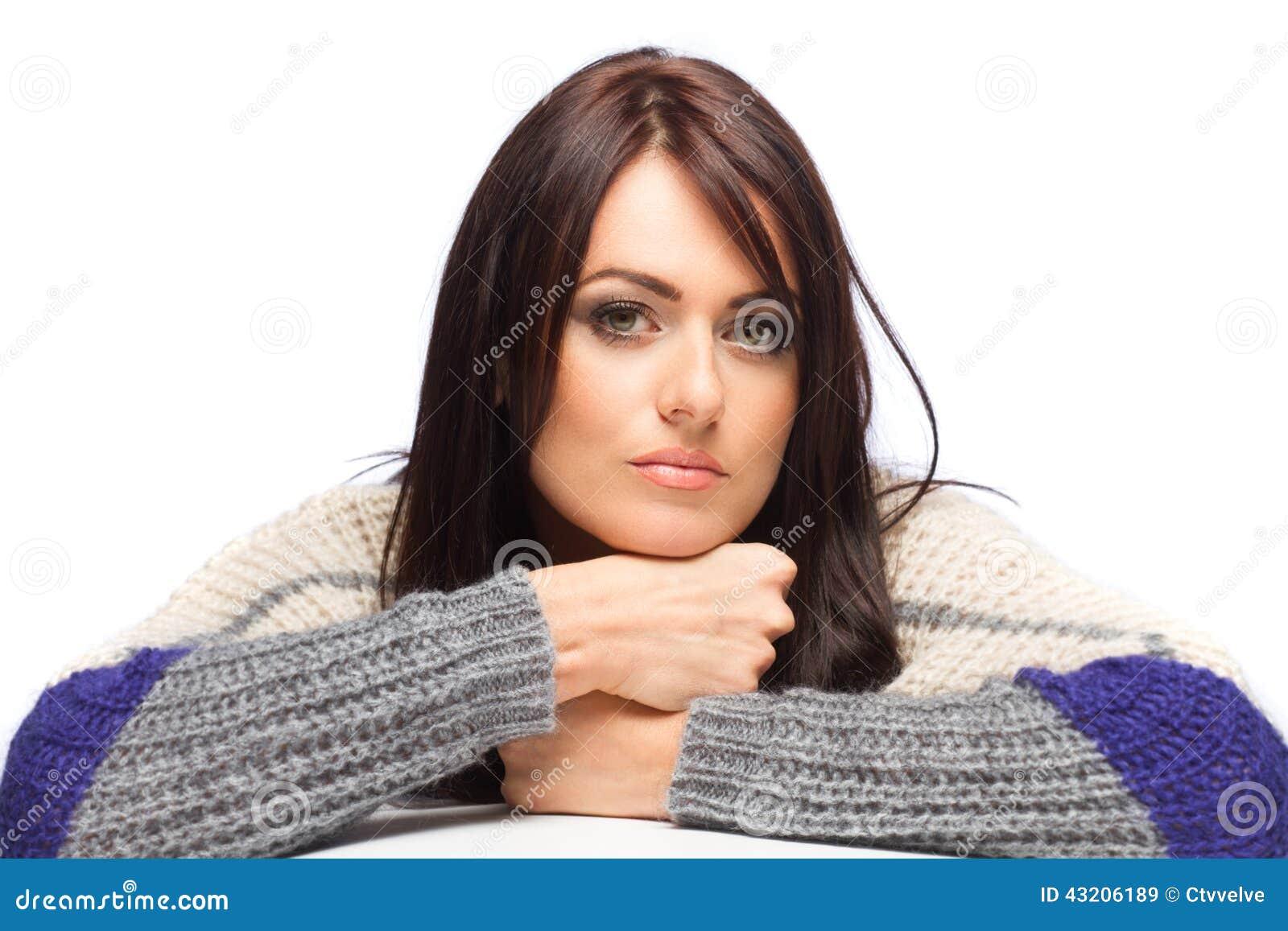 Download Kvinna fotografering för bildbyråer. Bild av long, kvinnligt - 43206189