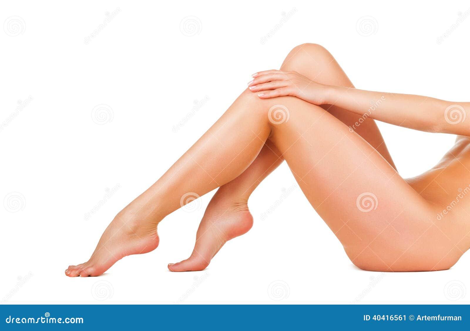 Kvinna för ben s