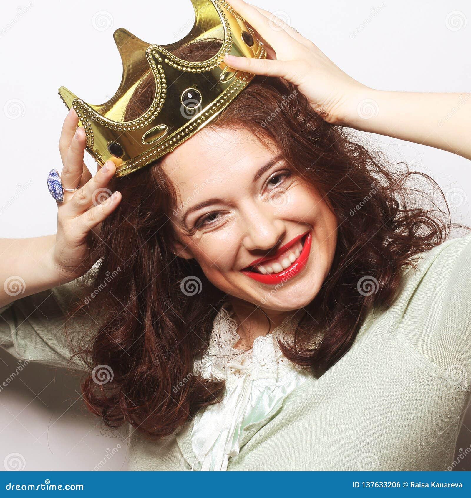 Kvinna i krona