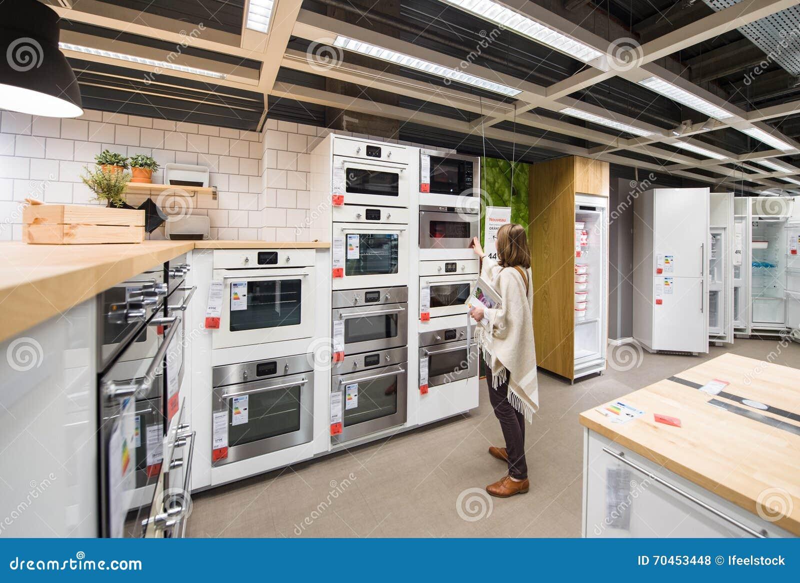 Kvinnaköpandeanordningar för kök