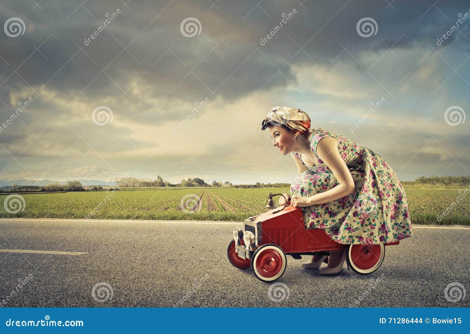 Kvinnakörning