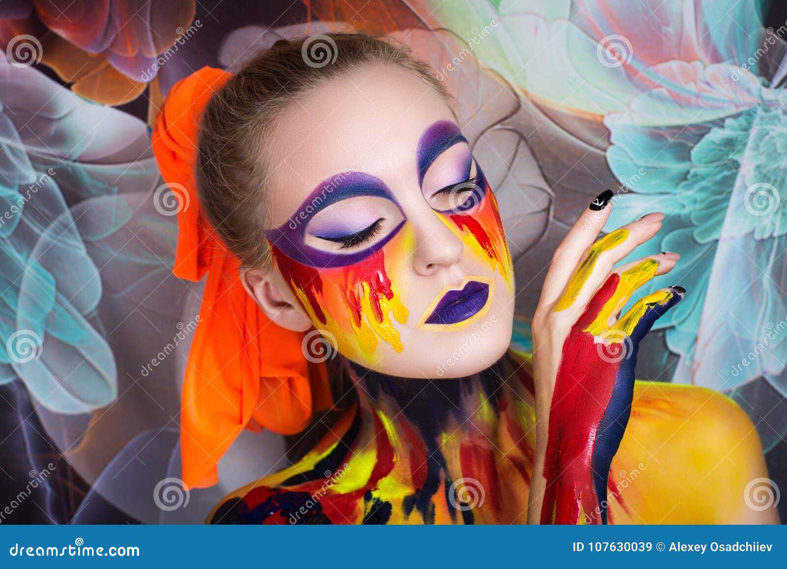 Kvinnakonstmålning