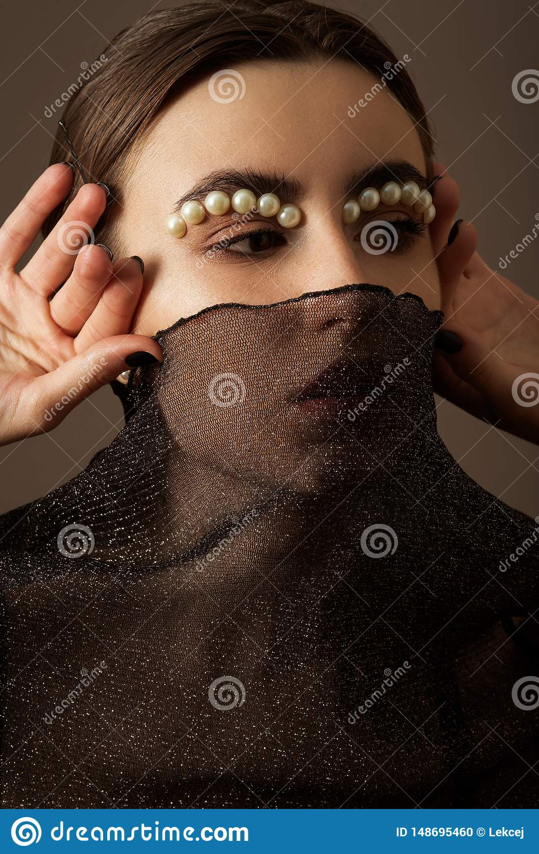 Kvinnlig id?rik makeup