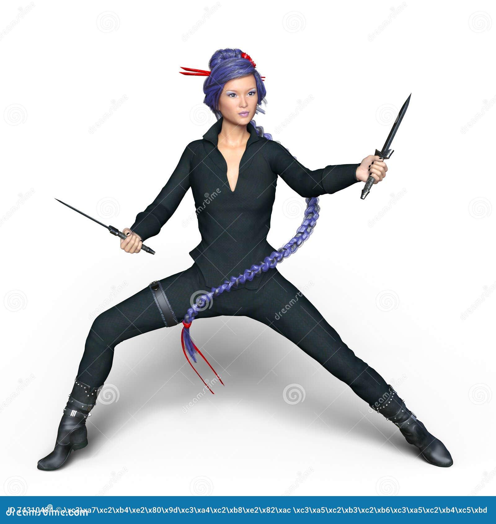 Kvinnlig ninja