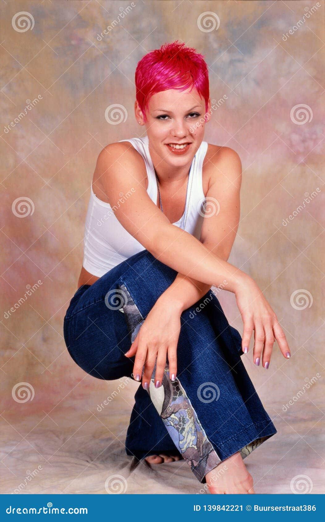 Kvinnlig sångare Pink