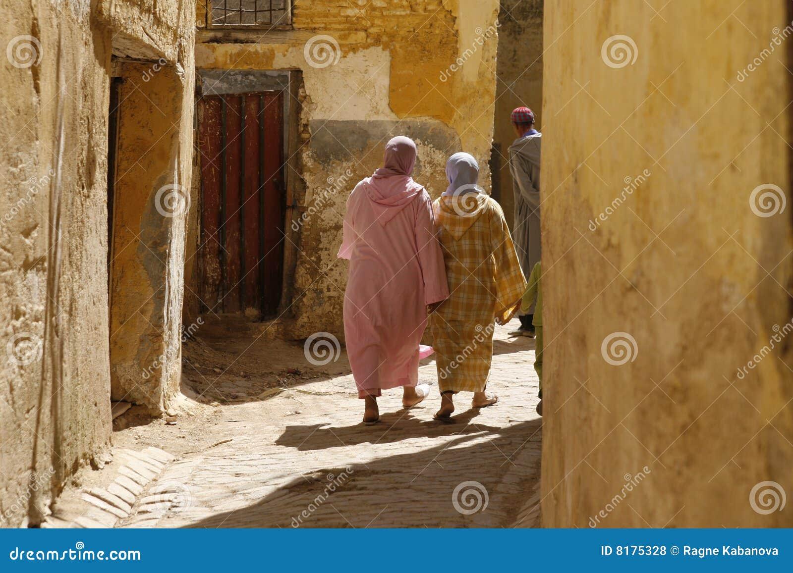 Kvinnor för djellabasmoroccan två