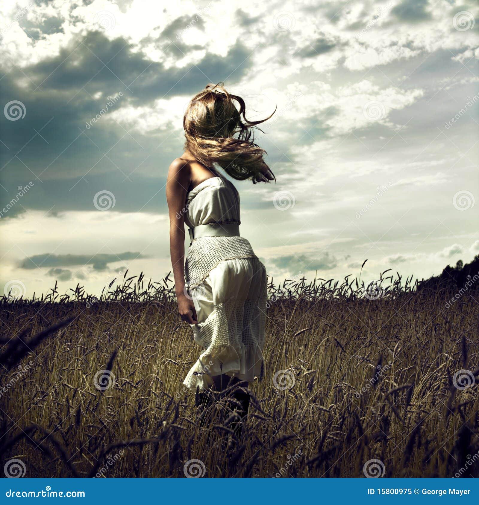 Kvinnor för fälthoppvete