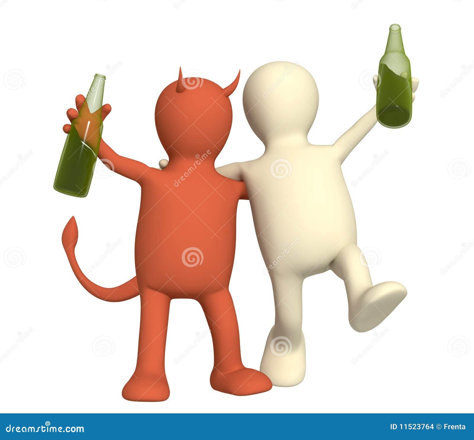 Kwaad van alcoholisme