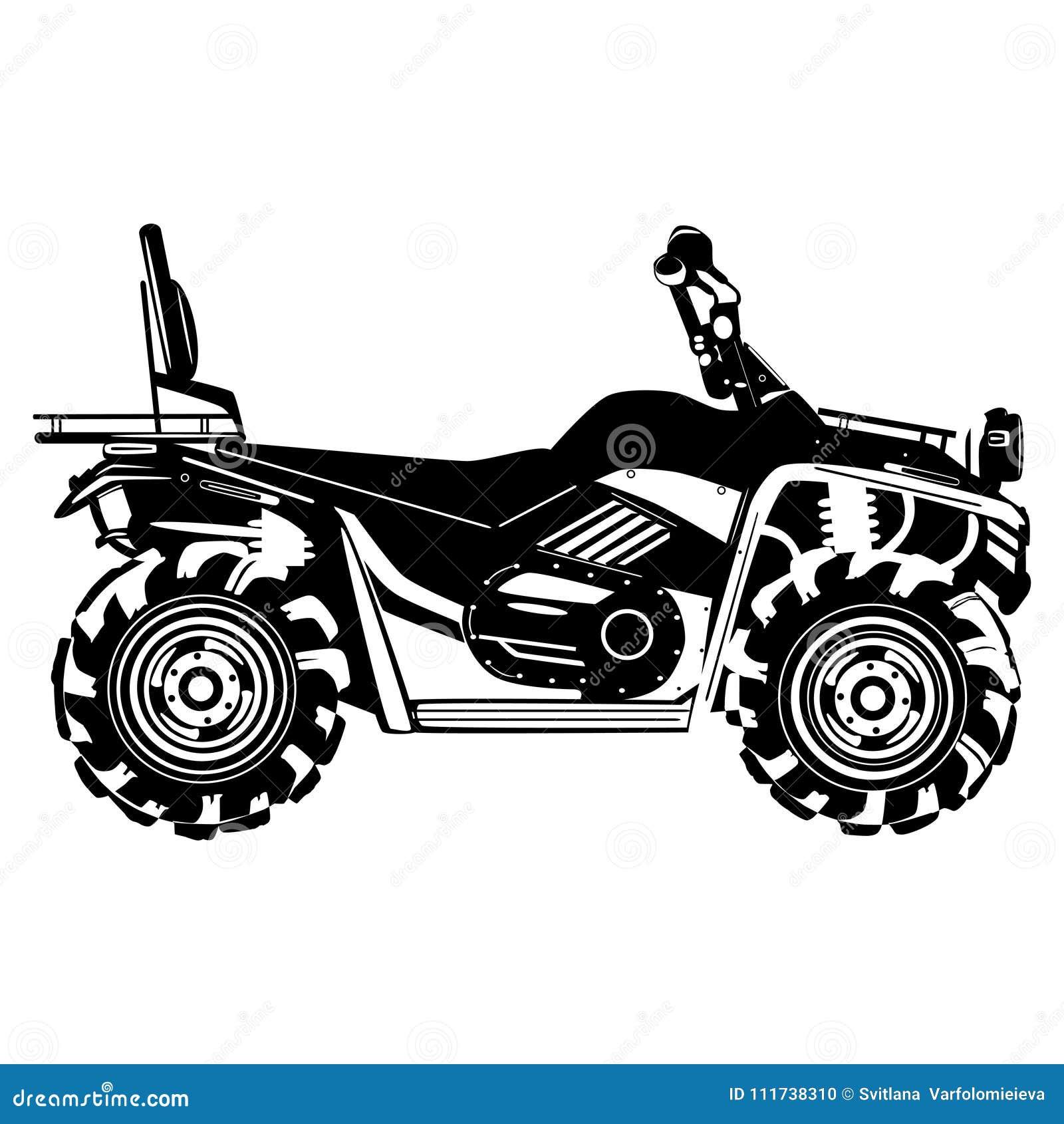 Kwadrata roweru wektorowy czarny szablon