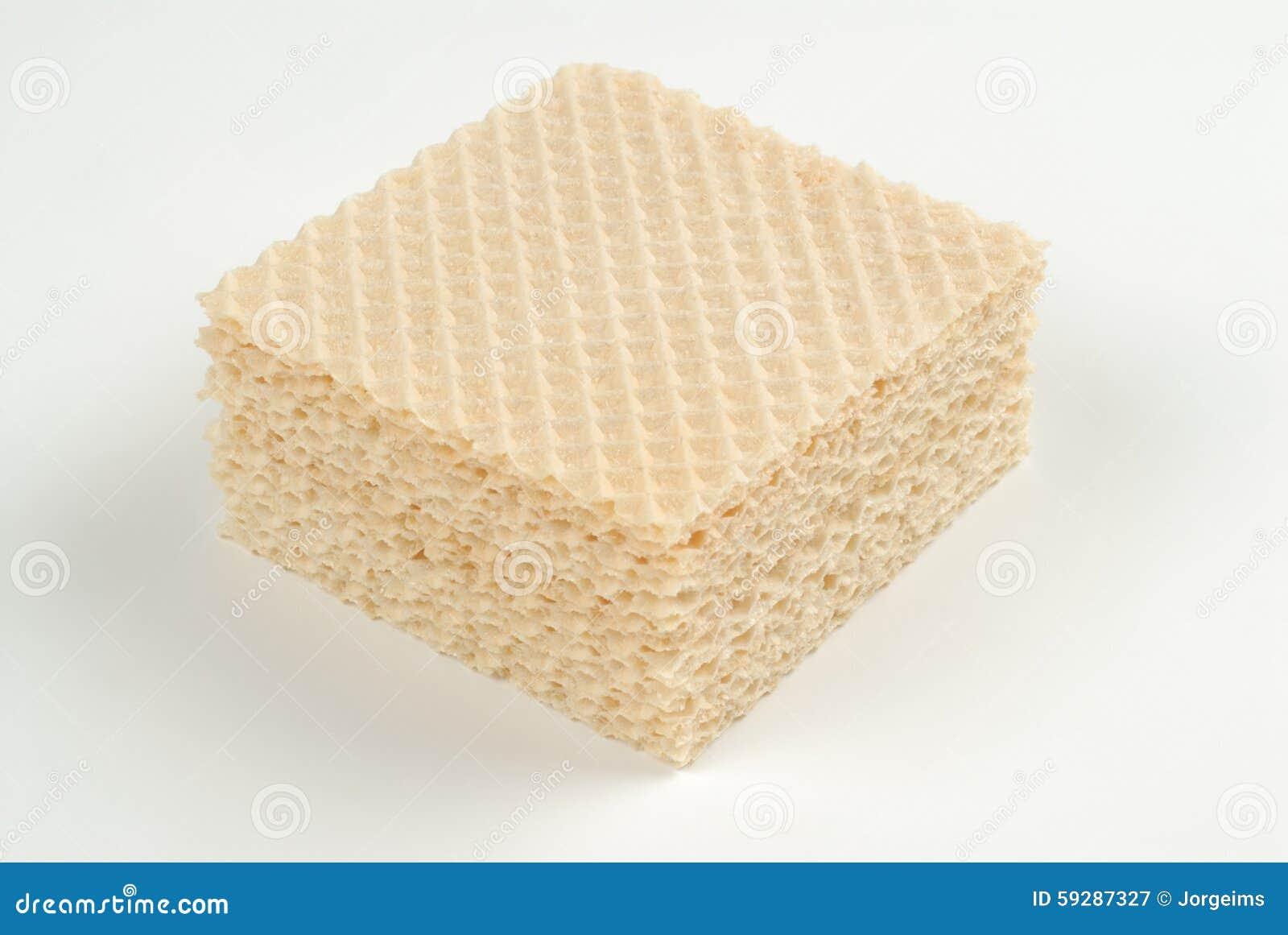 Kwadratowi ciastka lub opłatki