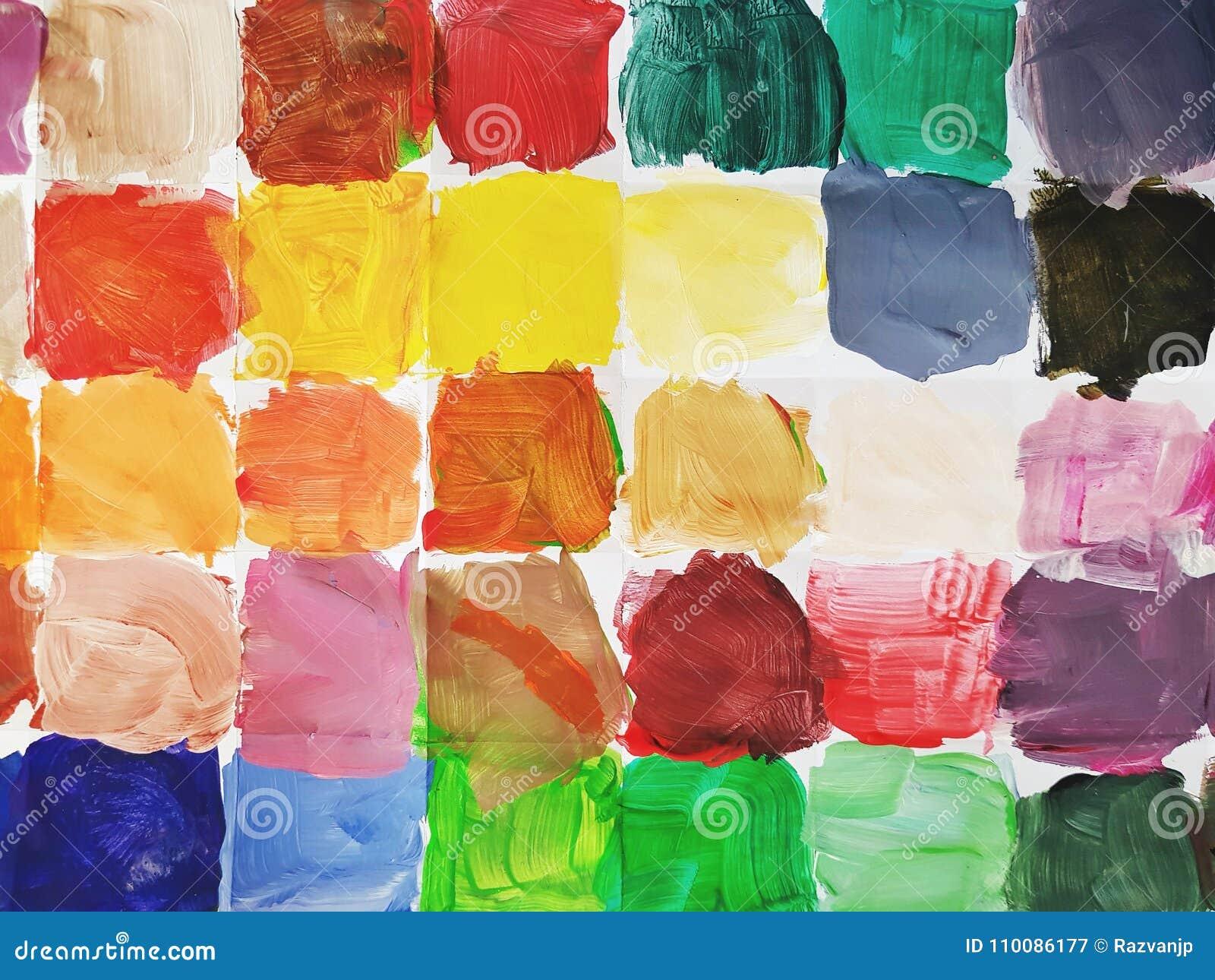Kwadraty kolor