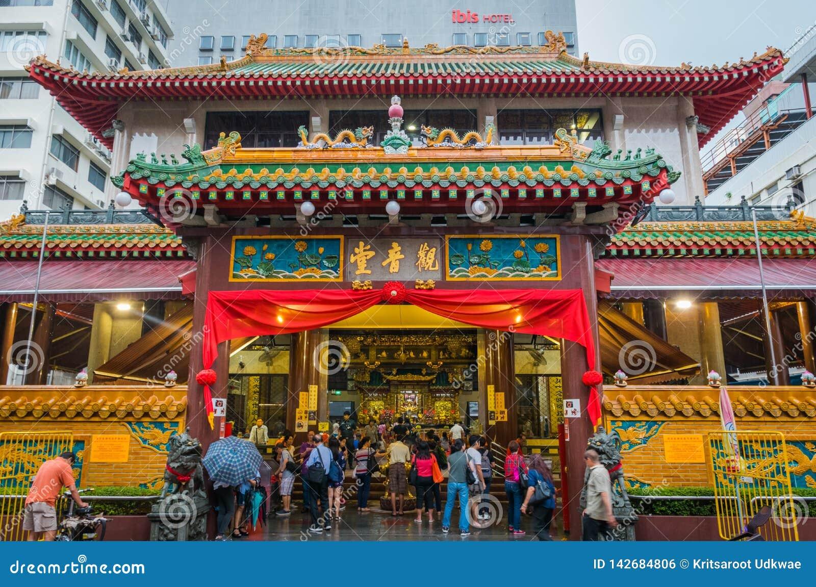 Kwan Im Thong Hood Cho Temple in Singapore.