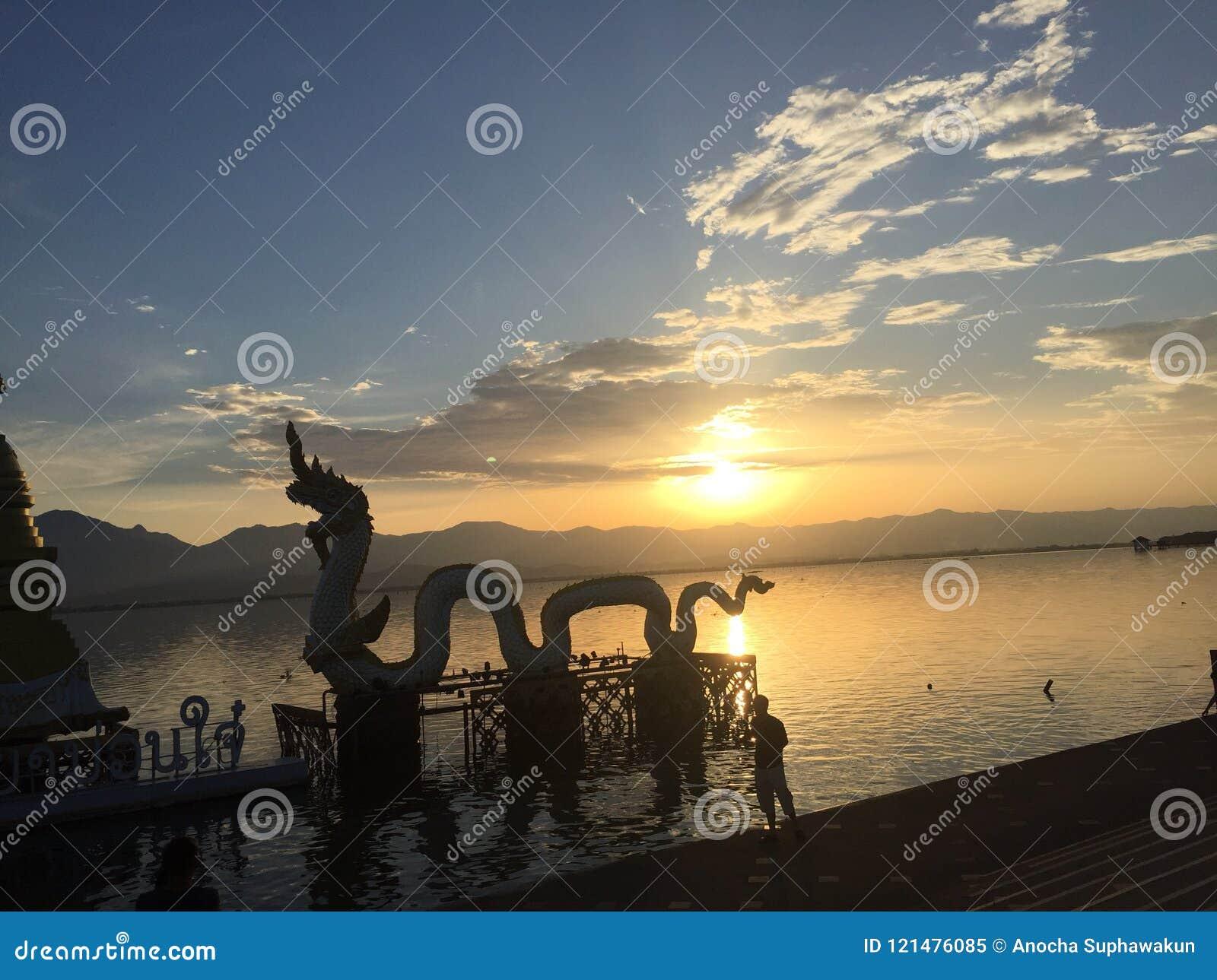 Kwan Phayao Sunset