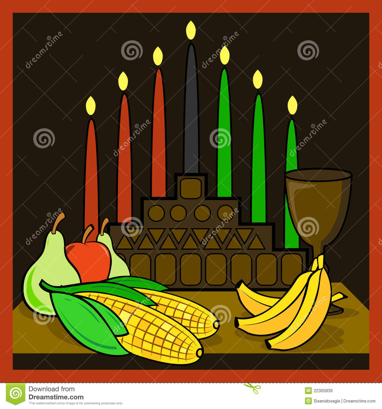 Kwanzaa Royalty Free Stock Images Image 22305839