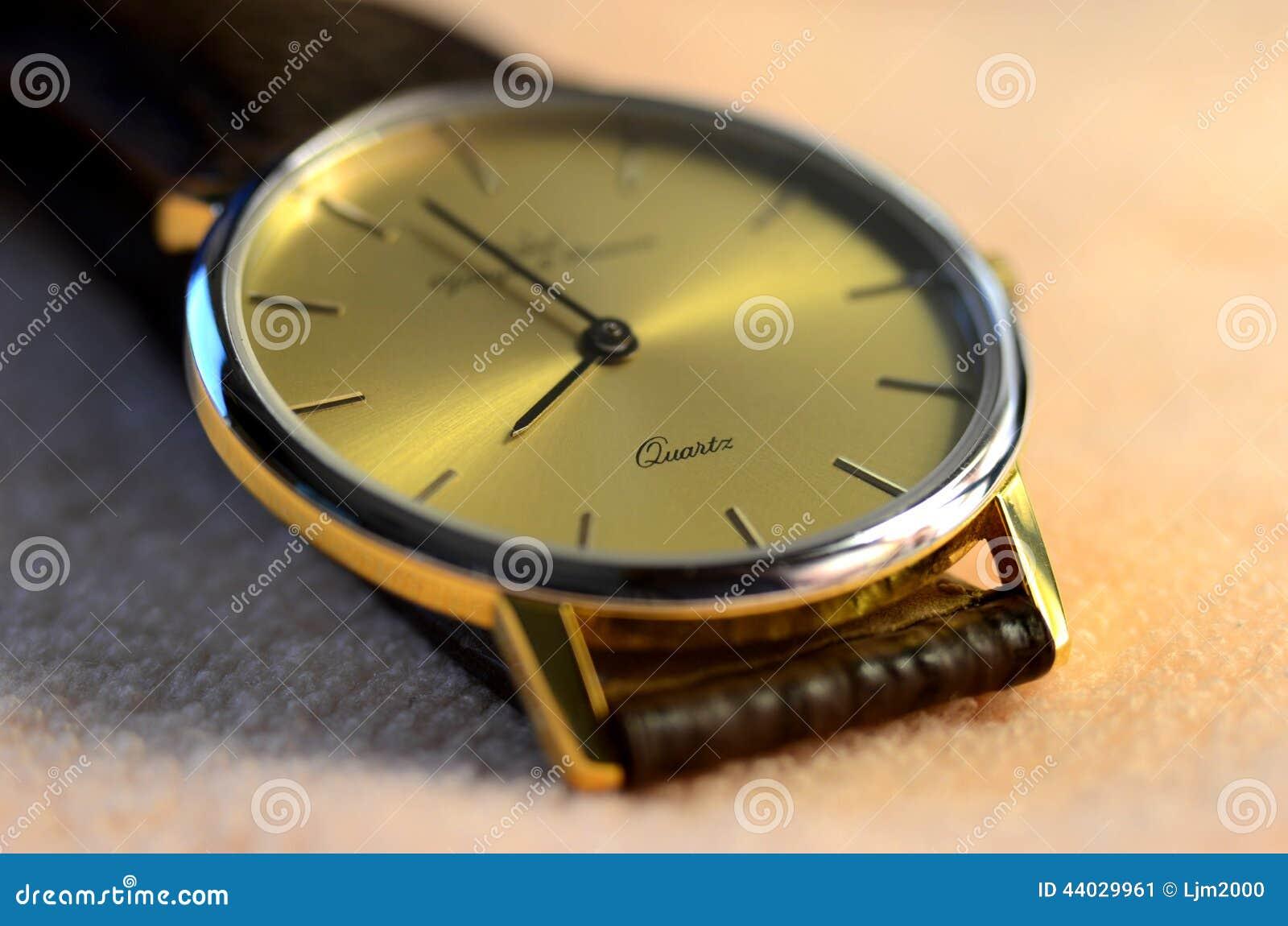 Kwarcowy zegarek