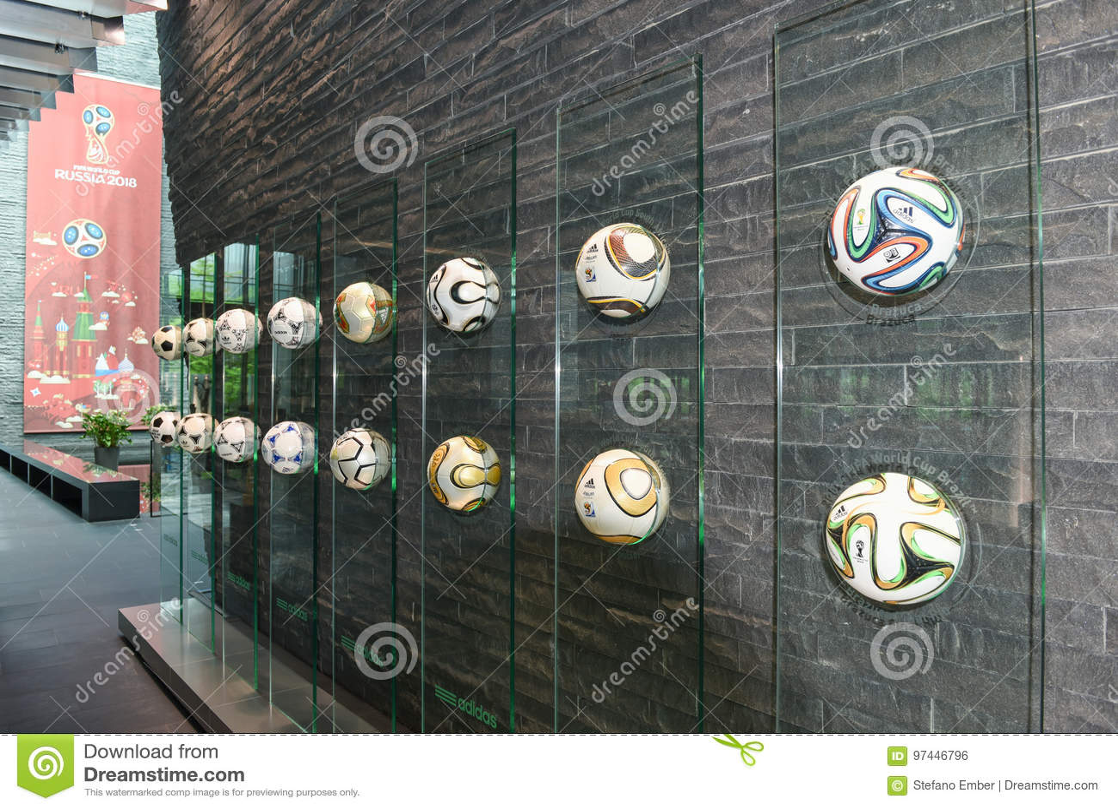 Kwatery główne FIFA przy Zurich na Szwajcaria