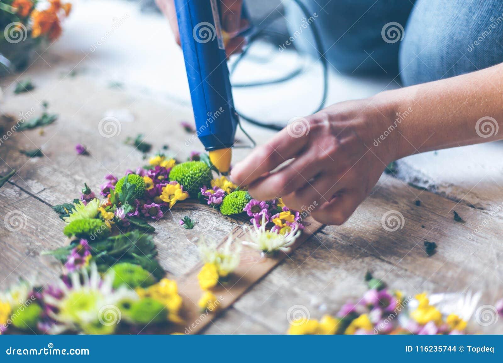 Kwiaciarnia robi kwiat dekoraci