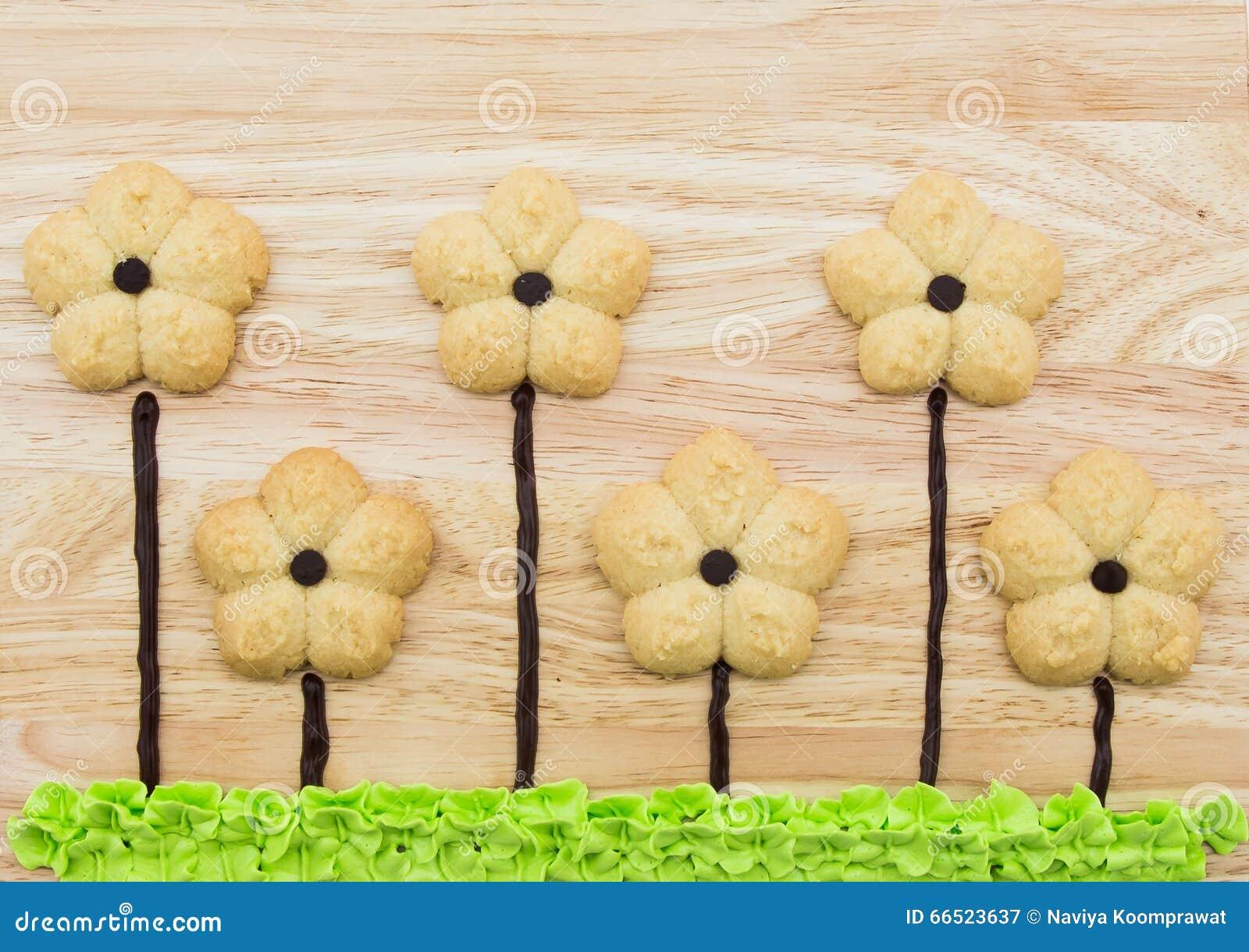 Kwiatów ciastka