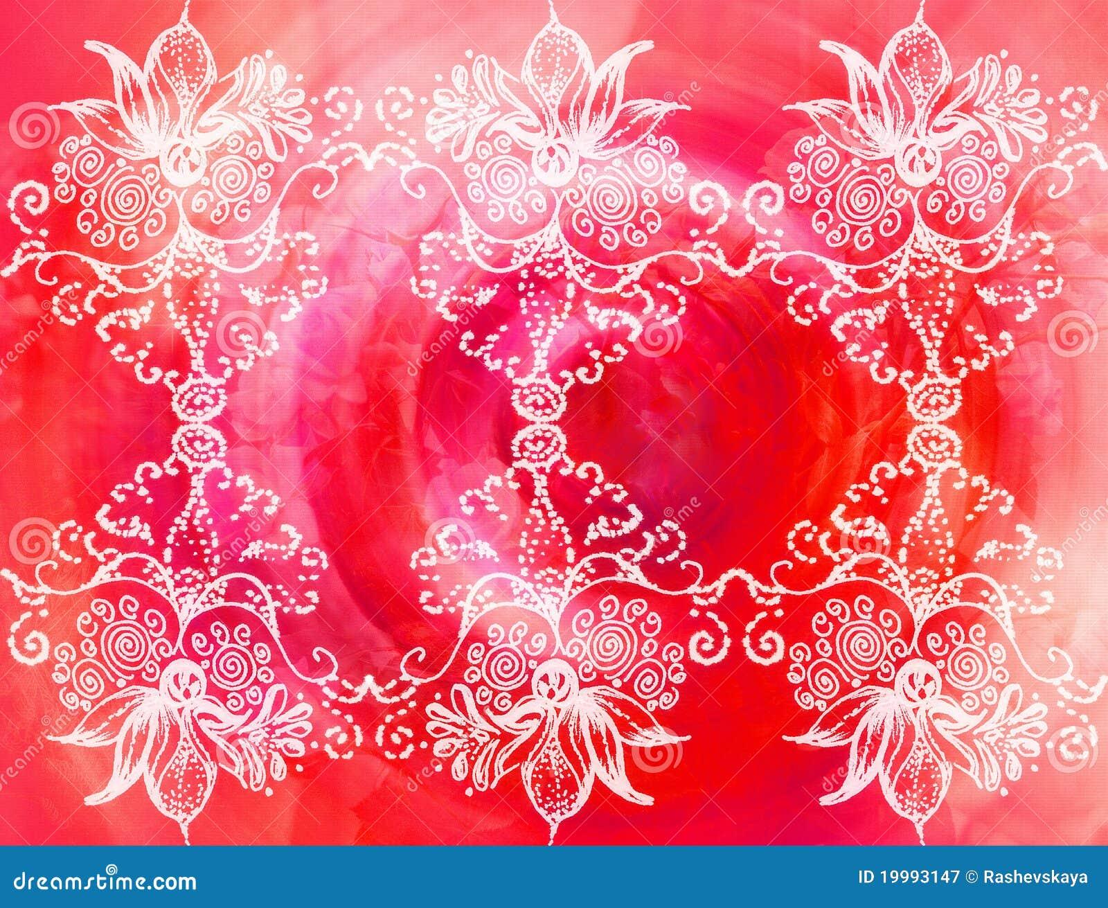 Kwiatów ornamenty