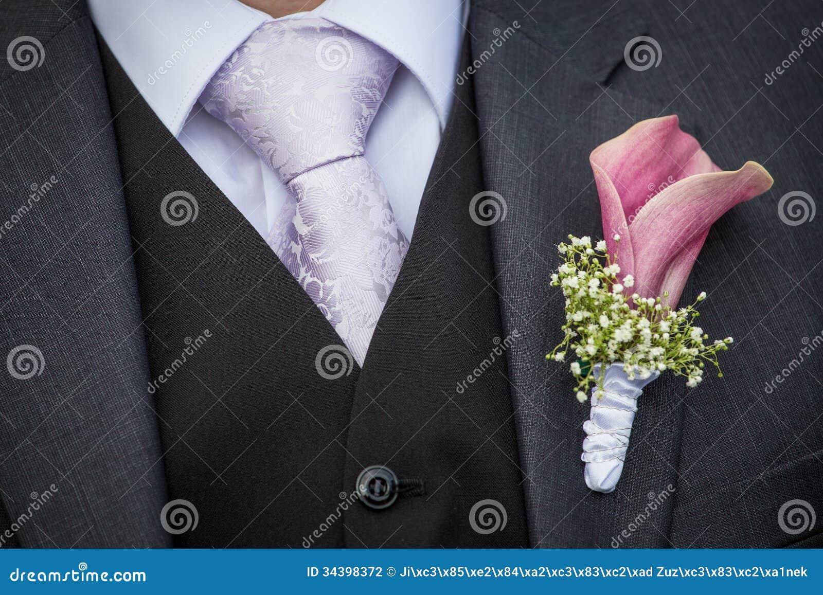 Kwiat na lapel