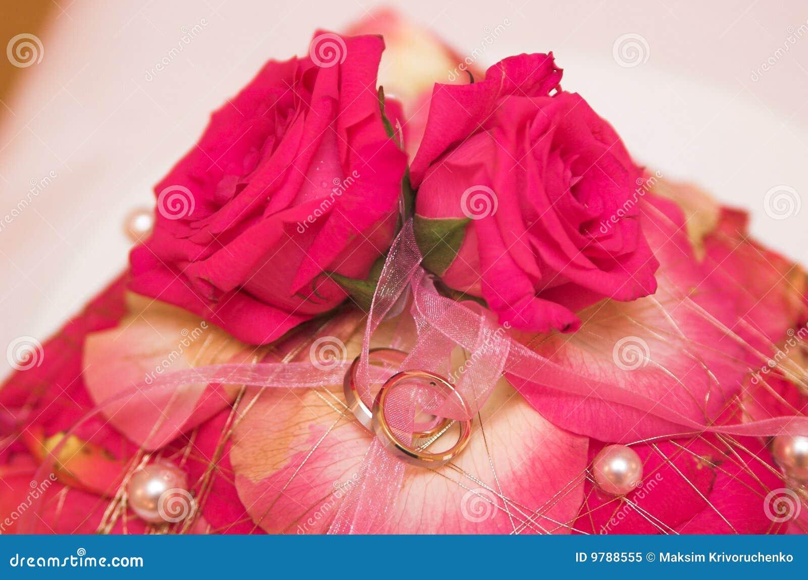 Kwiat ostrość dzwoni miękkiego ślub